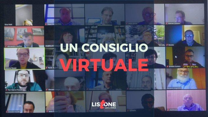 Consiglio comunale virtuale