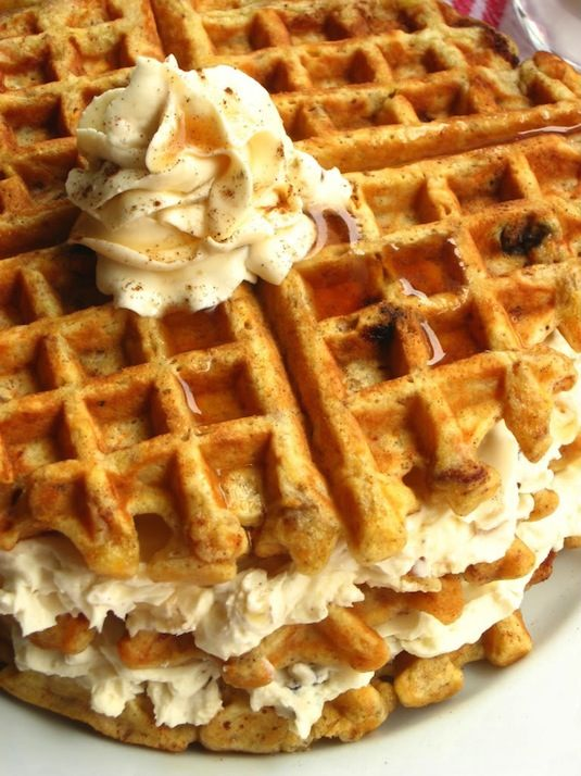 23 Things You Can Cook In A Waffle Iron | Waffle Iron Carrot Cake