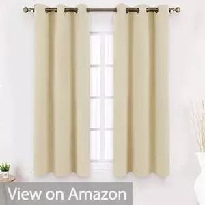 HOMEIDEAS Blackout Curtains
