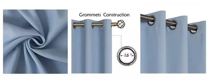 Details of BGment Blackout Curtains