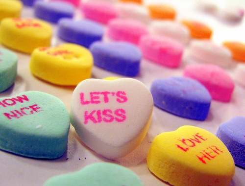 list of conversation heart messages | ListPlanIt.com