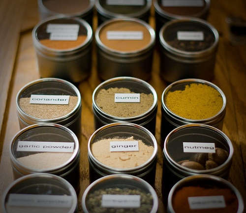 list of ingredients to include in your spice and baking inventory for the holidays | ListPlanIt.com