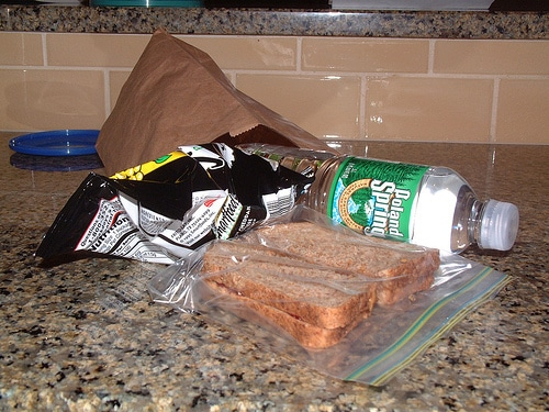 list of ways to curb lunchtime waste | ListPlanIt.com