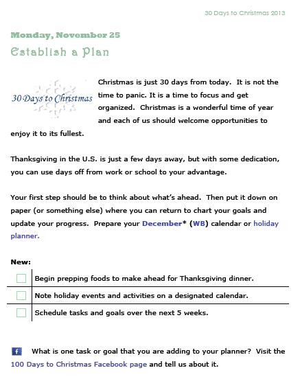 30 Days to Christmas | 30 Days to Christmas: Procrastinator's Edition