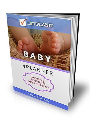 Baby ePlanner | ListPlanIt.com