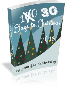 30 Days to Christmas 2016 eBook