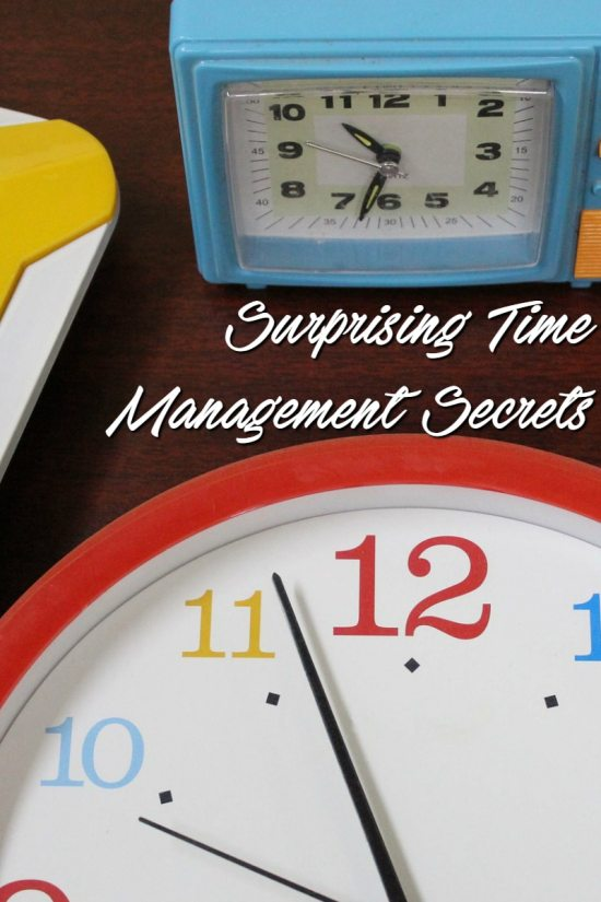 Surprising Time Management Secrets