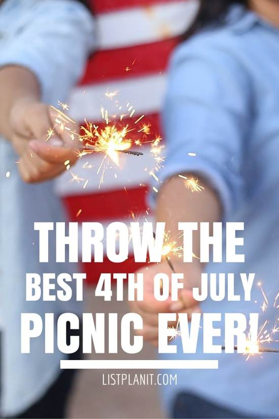 3 Great Ideas for the Best 4th Of July Picnic 2