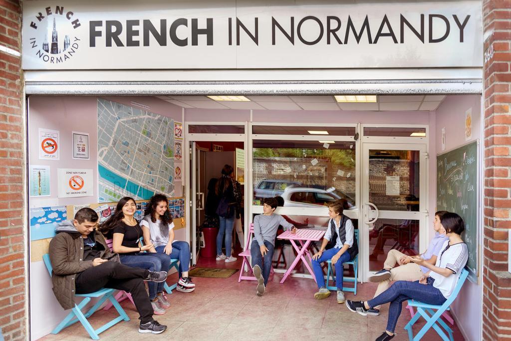 FrenchInNormandy