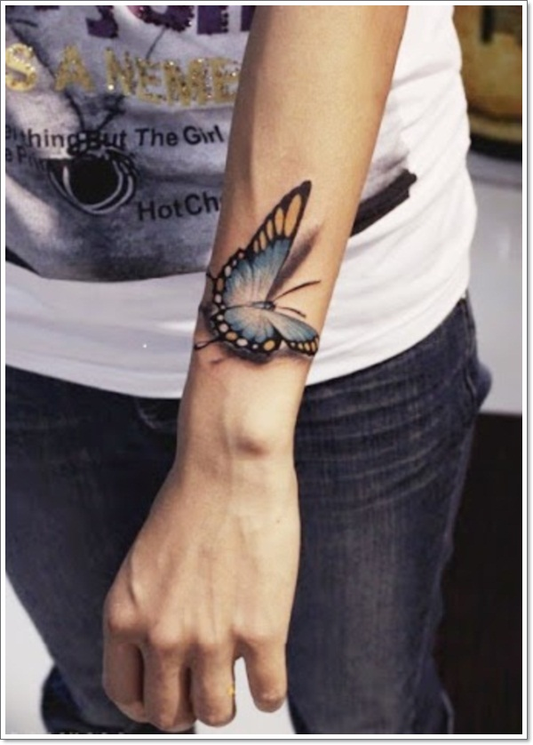 30 Unique Butterfly Tattoo Design Ideas