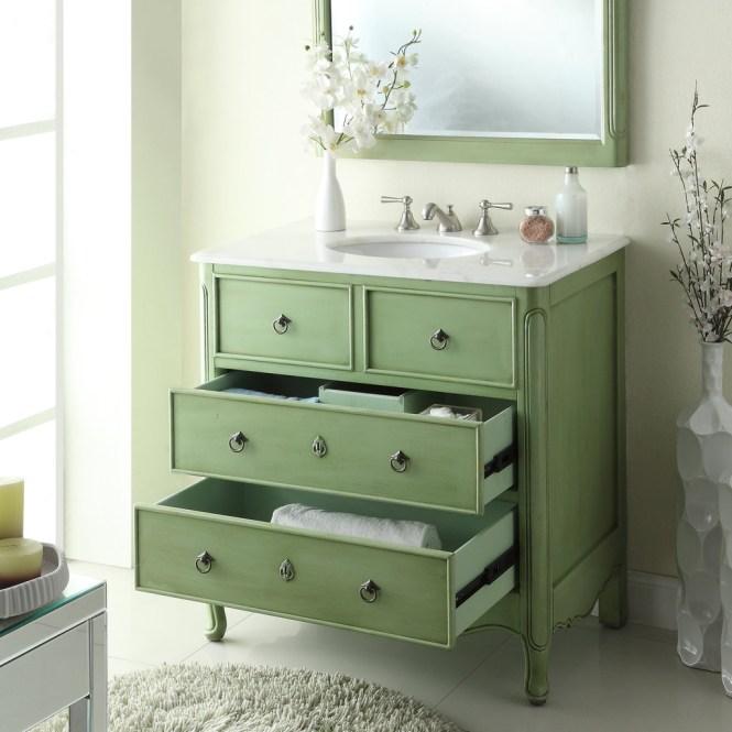 vintage bathroom vanity sink cabinets - bathroom design