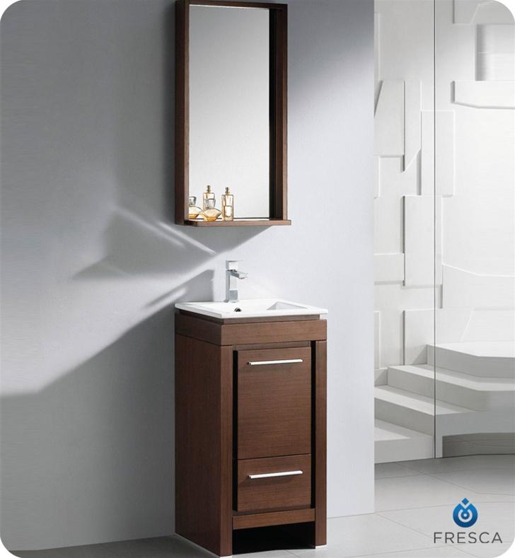 small modern bathroom vanity wenge finish