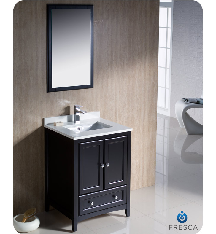 top sink faucet and linen cabinet option