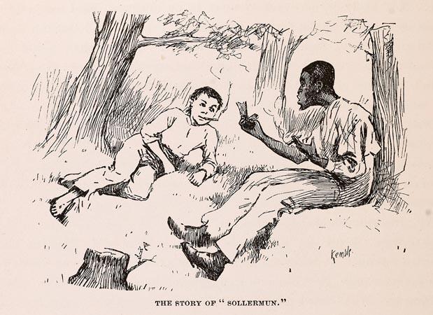 Huck & Jim Discussing Solomon