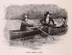W.E. Kemble's Original Manuscript Illustration