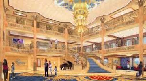 luxury of 1920's ocean-liners