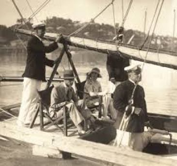 sailing in the 1920's