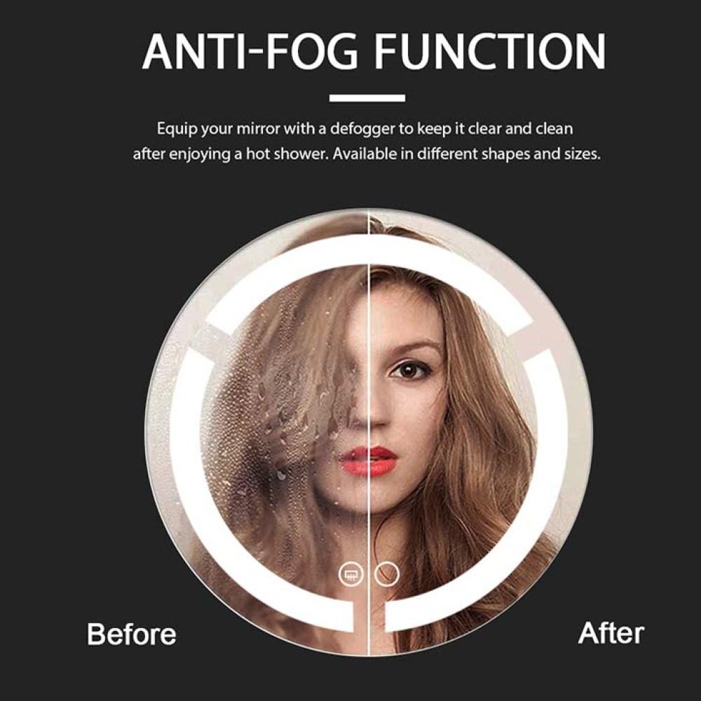 Anti-fog function
