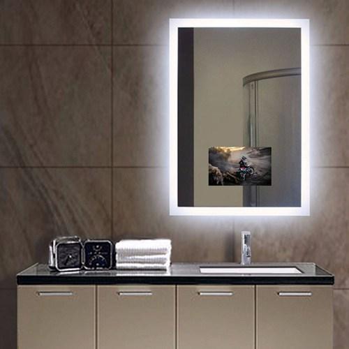 illuminated TV Mirror