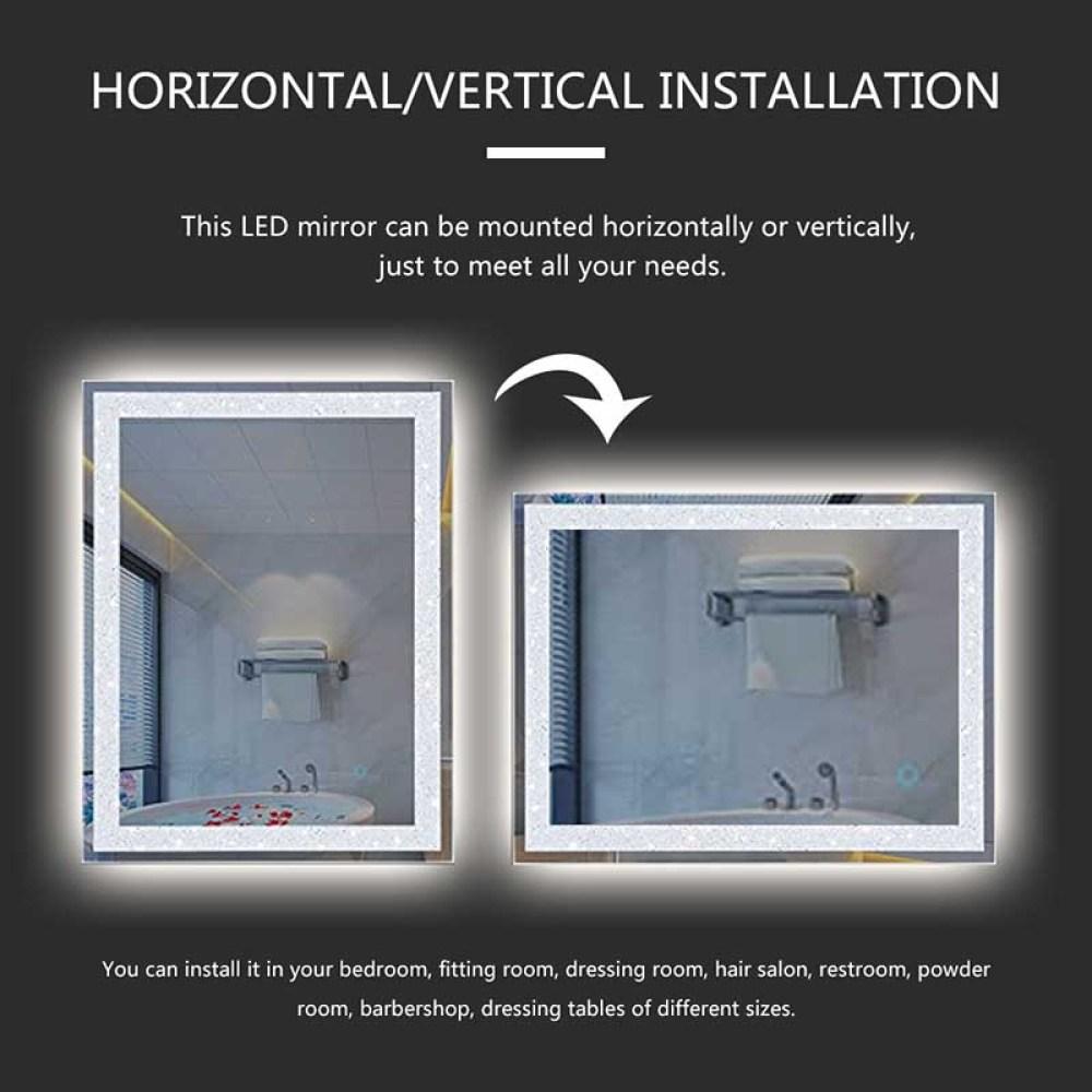 Vertical and Horizonta mounted