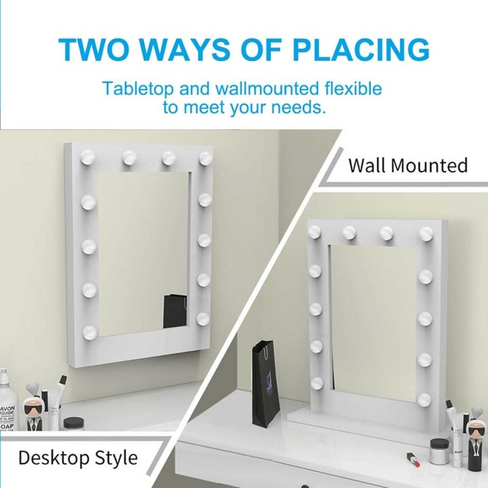 tabletop hollywood mirror