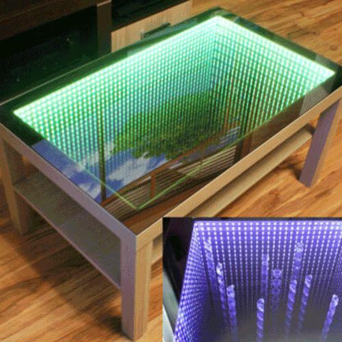 LED Lighted Mirror Desktop