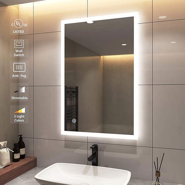 The Frameless LED Mirror for the Hotel