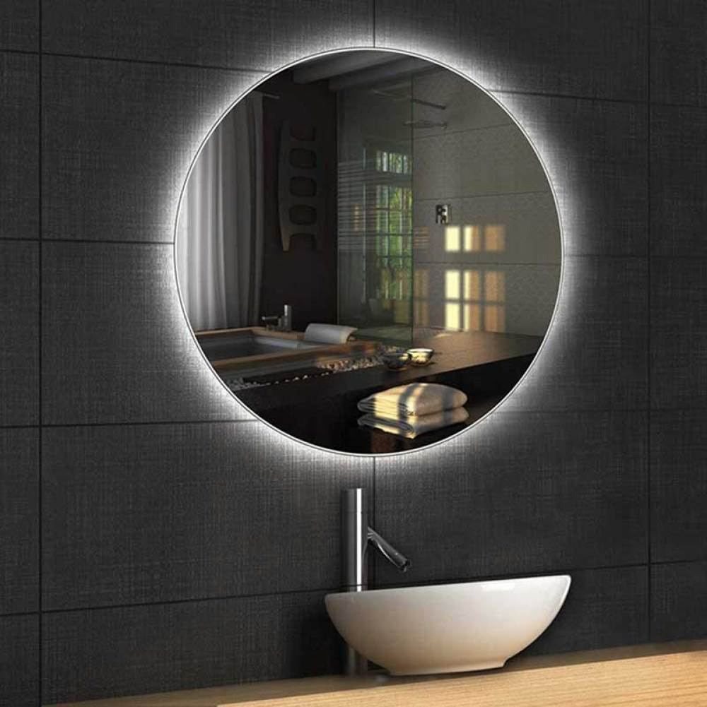 Backlit Mirror is one of the most popular LED lighted mirror types