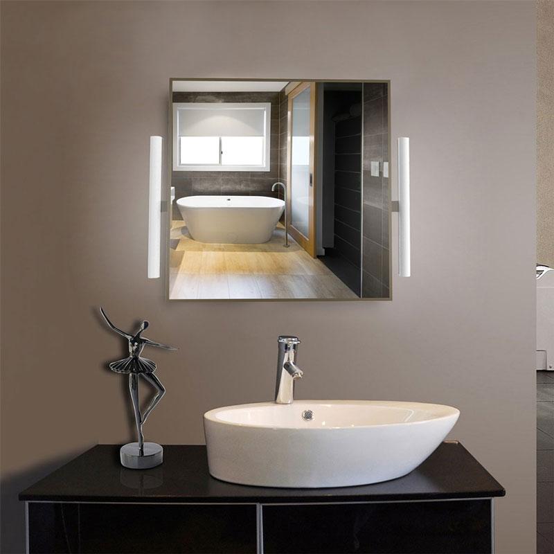 LED Rectangular Bathroom Vanity Mirror