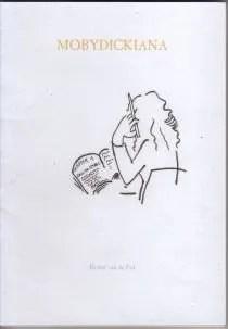 Omslag MobyDickiana - Barber van de Pol