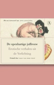 Omslag De openhartige juffrouw - Han van der Vegt