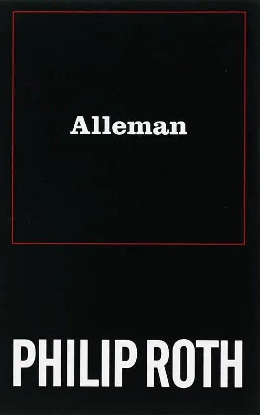 Omslag Alleman - Philip Roth