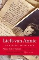 Omslag Liefs van Annie, De mooiste brieven van Annie M.G. Schmidt - Annie M.G. Schmidt