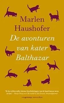 Omslag De avonturen van kater Balthazar - Marlen Haushofer