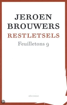 Omslag Restletsels - Jeroen Brouwers