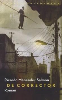 Omslag De corrector  -  Ricardo Menéndez Salmón