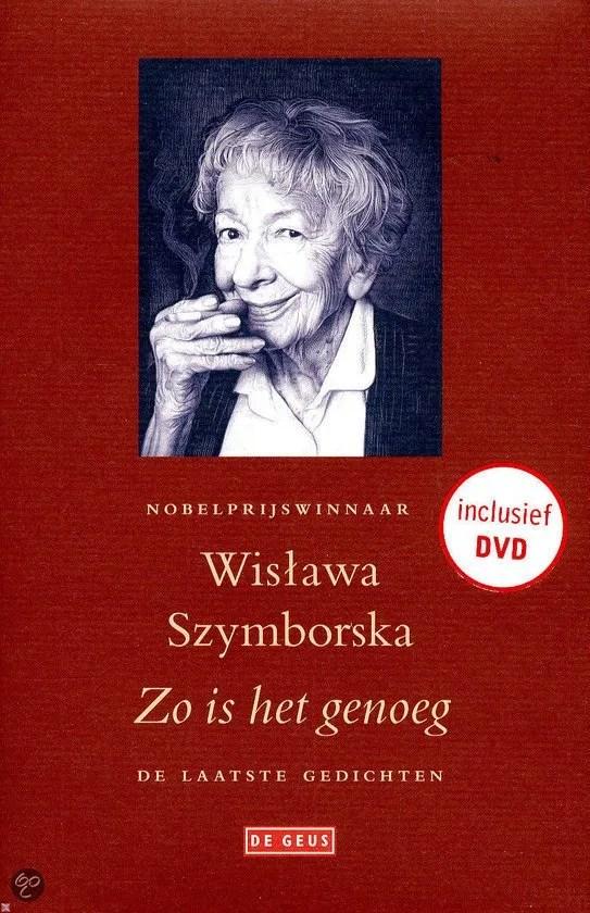 Omslag Zo is het genoeg  -  Wislawa Szymborska
