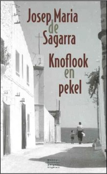 Omslag Knoflook en pekel  -  Josep Maria de Sagarra