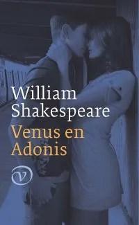 Omslag Venus en Adonis - William Shakespeare