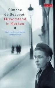 Omslag Misverstand in Moskou - Simone de Beauvoir