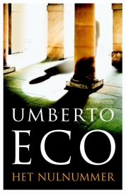 Omslag Het nulnummer  -  Umberto Eco