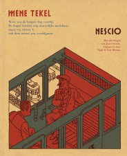 Omslag Mene Tekel  -  Nescio