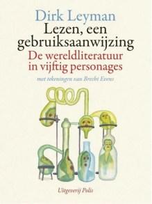Omslag Lezen, een gebruiksaanwijzing - Dirk Leyman