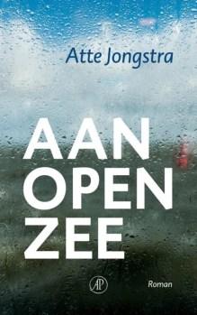 Omslag Aan open zee - Atte Jongstra
