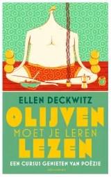 Omslag Olijven moet je leren lezen - Ellen Deckwitz