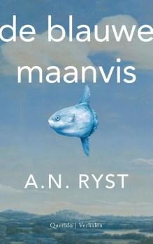 Omslag De blauwe maanvis - A.N. Ryst