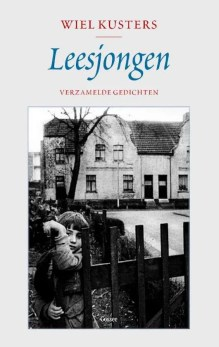 Omslag Leesjongen. Verzamelde gedichten 1978-2017 - Wiel Kusters
