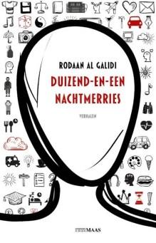 Omslag Duizend-en-een nachtmerries - Rodaan Al Galidi