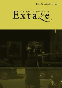 Omslag Extaze. Literair tijdschrift. Nummer 24 (jrg. 6, nr. 4, 2017) -