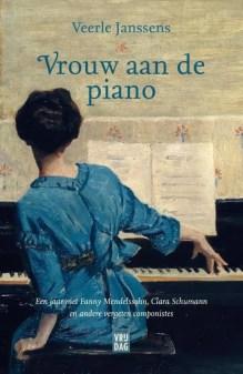 Omslag Vrouw aan de piano - Veerle Janssens